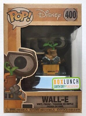 FUNKO POP! Disney - Wall-E - BoxLunch Earth Day Exclusive - w/ Soft Protector