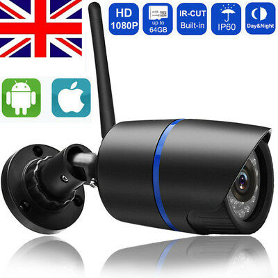 Wireless 1080P/720P HD WIFI IP Network Camera CCTV Outdoor Security IR Night LI