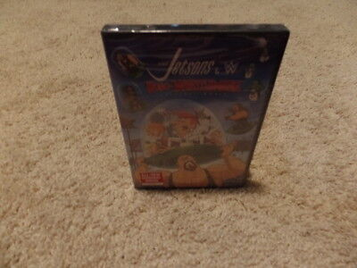 THE JETSONS & WWE ROBO-WRESTLEMANIA wwe BRAND NEW FACTORY SEALED dvd