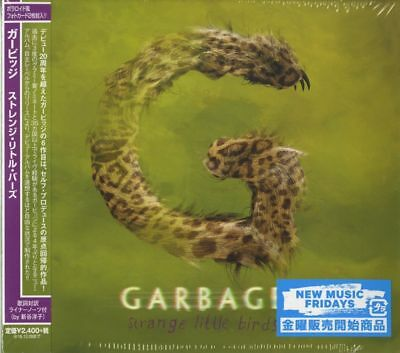 Garbage-Strange Little Birds-Japan   Bonus Track F30