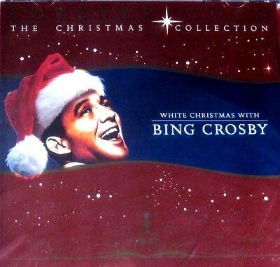 White Christmas with Bing Crosby (New Sealed CD) Christmas Collection *FREE Ship