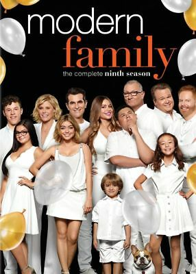 New Sealed Modern Family - The Complete Ninth Season DVD 9