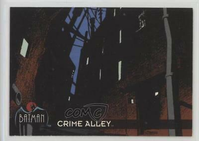 1993 Topps Batman: The Animated Series #20 Crime Alley Non-Sports Card 1k3