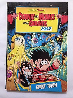 The Beano's DENNIS THE MENACE. 1997 Annual Good Condition ***FREE UK POSTAGE***