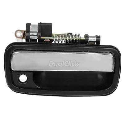Black Chrome Exterior Outer Front Right RH Door Handle For 95-2004 Toyota Tacoma