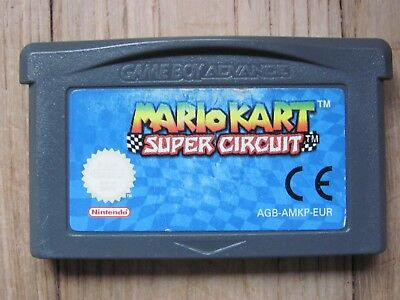 Jeu Nintendo Game Boy @@ Color @@ Advance @@ Mario Kart Super Circuit @@ Test Ok