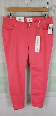 fe94180974f81 Celebrity Pink women s Calpso Coral Jayden Skinny jeans petite NWT size 14P