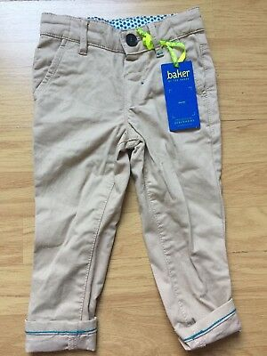 db891168f11e TED BAKER BABY Boy Beige Chinos   Trousers Size 12-18 Months BNWT ...