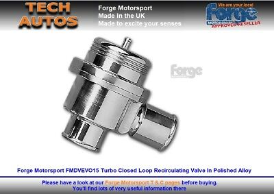 Mitsubishi Evo IV to VI & X Forge Motorsport FMDVEVO15 RS Valve Recirculation