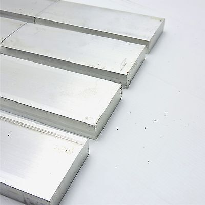 ".75"" x 2.25"" Aluminum Solid 6061 FLAT BAR 18.75""Long mill stock QTY 4 sku L517"