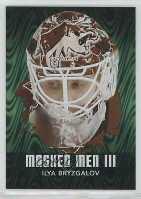 2010 In the Game Between Pipes Masked Men III Emerald #MM-19 Ilya Bryzgalov Card