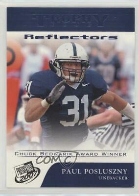 2007 Press Pass Blue Reflectors #72 Paul Posluszny Penn State Nittany Lions Card
