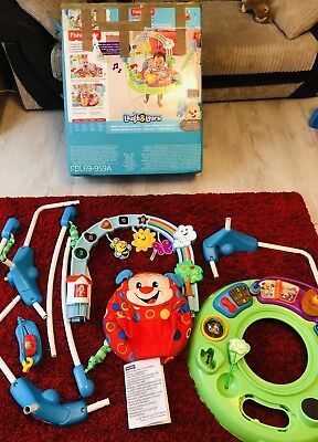 Ex display Fisher-Price Laugh & Learn Puppy's Activity Jumperoo