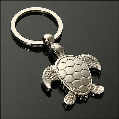 1Pc Sea Turtle Pendent Keychains Keyring Keyfob Key Ring Holder Lovely Gift S6