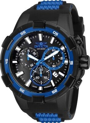 Invicta 25859 Men's Aviator Black Dial Chronograph Dive Watch