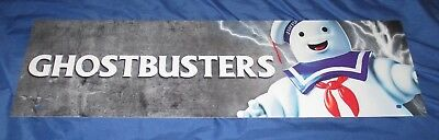SPIRIT HALLOWEEN Store Exclusive Display Sign GHOSTBUSTERS Stay Puft Marshmallow
