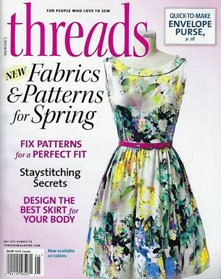 threads magazine,  May 2015,  number 178,