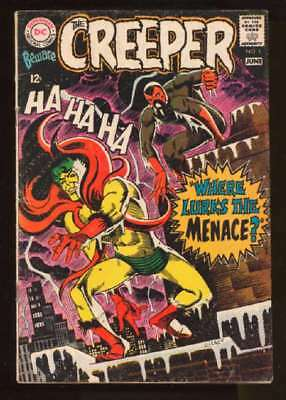 Beware the Creeper (1968 series) #1 in Very Good + condition. DC comics [*5n]