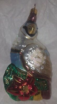 Polonaise Partridge in a Pear Tree 12 Days of Christmas Ornament EUC