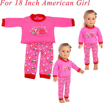Christmas Accessory Dress Doll Suitable Clothes For American Girl Toys US 18Inch