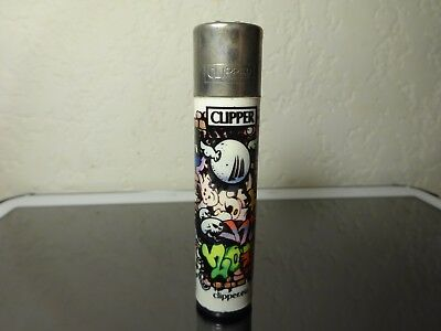 Lighter Briquet CLIPPER Big size Urban Graffiti Collection N°3/4