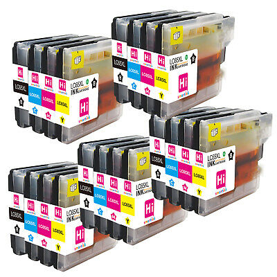 20 LC61 Ink Cartridge for Brother MFC-490C MFC-295CN MFC-J265W MFC-495CW Printer