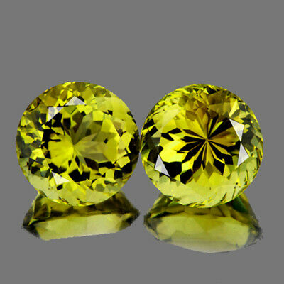 4.10 mm ROUND 2 PIECES NATURAL CANARY YELLOW MALI GARNET [VVS]