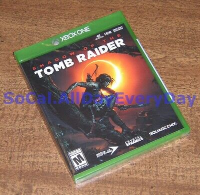 Shadow of the Tomb Raider (Xbox 1 One) *****BRAND NEW & FACTORY SEALED!***** xb1