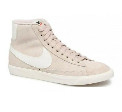 72615a486f2 NIKE BLAZER MID Vintage Suede Desert Sand Sail Womens Shoes 917862 ...