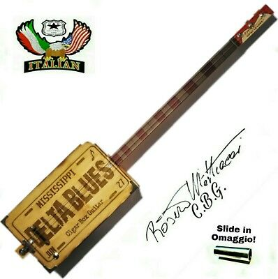 Cigar Box Guitar Delta Blues 3SP.