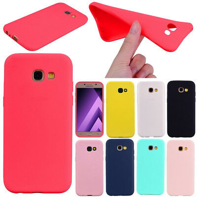 For Samsung Galaxy Ultra Slim Shockproof Soft TPU Silicone Back Case Cover Skin