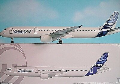 Hogan Wings 1:200  Airbus A321  Airbus House Colour  AS 08 + Herpa Wings Katalog