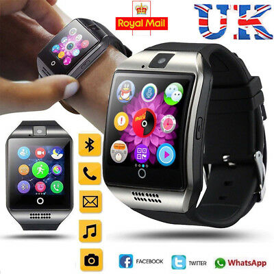 2018 Q18 Bluetooth Smart Watch Phone Wrist watch for Android & iOS UK STOCK