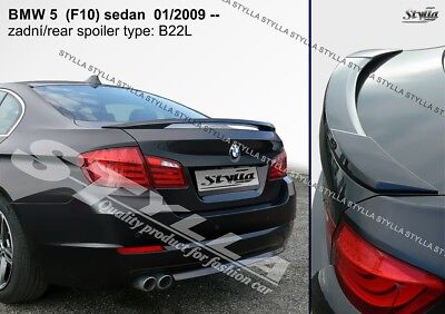 b1d8e64bb931 SPOILER REAR BOOT Trunk Tailgate Bmw F10 Brand Wing Accessories ...