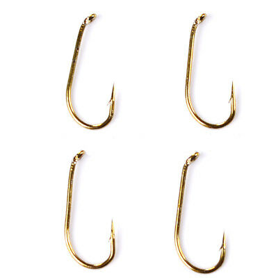 200pc Fly Hook Fishing Hook 8/12/14/16 Size fishhook Freshwater Bass Fish Tackle
