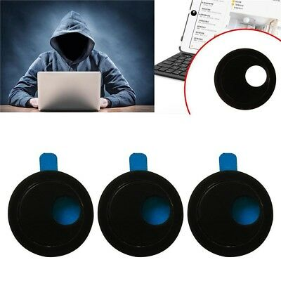 3pcs Webcam Cover Camera Shield Privacy Protect Sticker For Laptop Tablet Phone