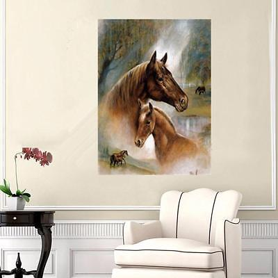 DIY 5D Diamond Embroidery Horse Painting Rhinestone Cross Stitch Home Decor