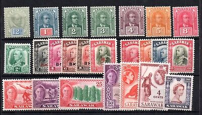 Sarawak early fine mint collection WS11265