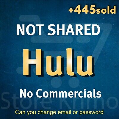 Hulu Premium 2X Account - 3 MONTHS  - No Commercials - WARRANTY FAST DELIVERY 🔥