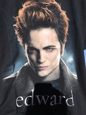 TWILIGHT Team Edward Cullen Crepusculo Robert Pattinson T-shirt M