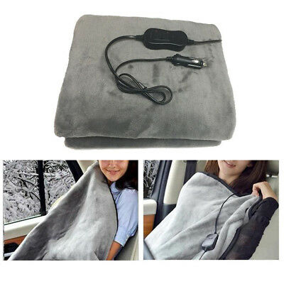 12V Comfortable Electric Heated Car Van Truck Heating Blanket Warm Winter Cover