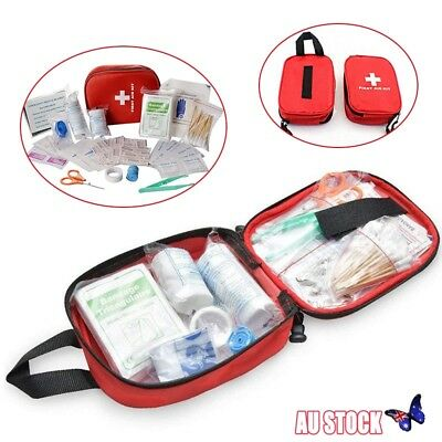 First Aid Medical Emergency Kit Survival Bag Pouch Camping Car Home Travel New