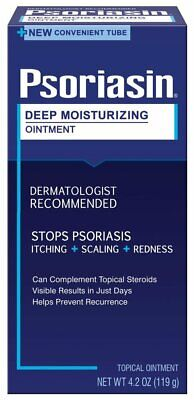 PSORIASIN Deep Moisturizing Ointment 4 oz ( Pack of 2)