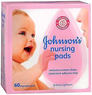 Johnson's Nursing Pads - 60 disposable pads, Pack of 5