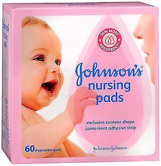 Johnson's Nursing Pads - 60 disposable pads, Pack of 6