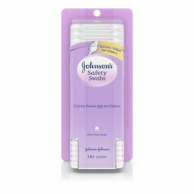 Johnsons Safety Swabs 185 ct Box - 24 per case.