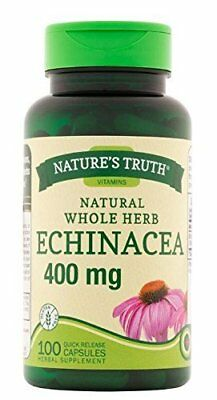 Nature's Truth Echinacea 400 mg Dietary Supplement, 100 Count