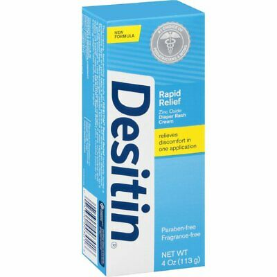 Desitin Rapid Relief Creamy, 4 Ounce (Pack of 36)