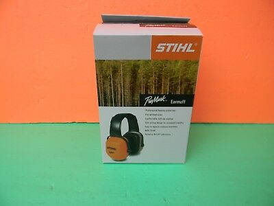 GENUINE STIHL PRO MARK EARMUFF NRR 29 dB # 7010 884 0502 ------------- DR90
