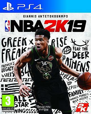Ps4 Playstation 4 Nba 2K19 Dvd Nuovo Originale Italiano